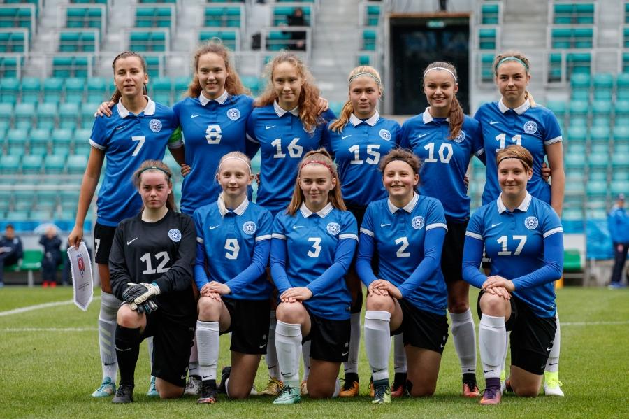e767b56476c Naiste U17: Tšehhi - Eesti - Fotogaleriid - Soccernet.ee - Jalgpall ...