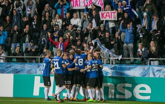 Eesti koondis saab varasemast rohkem tähtsaid mänge. Foto: Brit Maria Tael