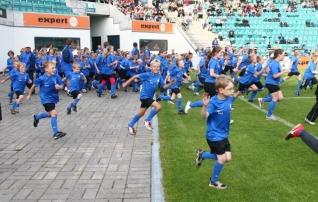 Eestlased õppisid Belgias intellektipuudega laste spordi juurde toomist