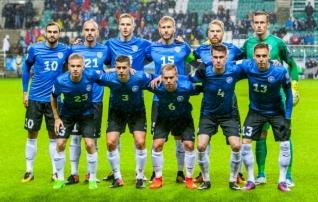 Eesti koondis tegi kolmandat kuud järjest väikese sammu kõrgemale