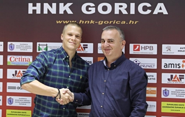 Henrik Ojamaa on varem tulnud Poola meistriks. Nüüd on tal ka Horvaatia esiliiga kuldmedal. Foto: HNK Gorica