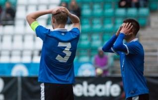 JÄRELVAADATAV: Eesti U17 koondis kaotas Taanile üleaja penaltist