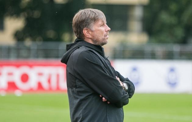 Eesti U21 koondise uus peatreener on Igor Prins. Foto: Brit Maria Tael
