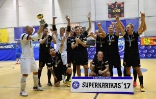 Saalijalgpalli superkarika võitis Augur