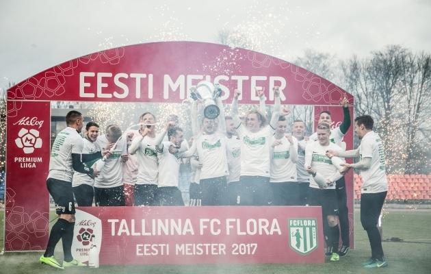Flora saab karika pea kohale vinnata - Eesti meistrid 2017! Foto: Brit Maria Tael