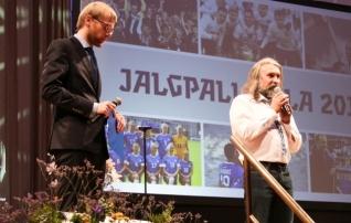 Jalgpalligala on pühendatud Eesti riigi lähenevale juubelile