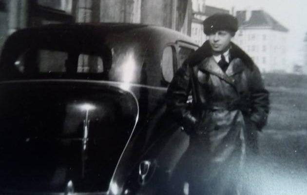 Pilt on illustratiivne. Fotol on koondislane Eduard Ellman, kes oli esimese vabariigi ajal poliitilises politseis autojuht ja kes hiljem Nõukogude võimu poolt hukati. Foto: arhiiv