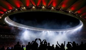 Hispaania ratsapolitsei ei suutnud Madridi derbit võõrustatud staadioni treppe händlida