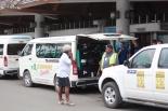 Eesti koondise saabumine Vanuatule