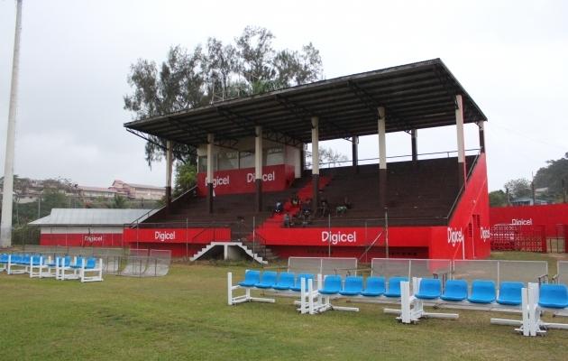 Maavõistlust võõrustav staadion. Foto: Kasper Elissaar