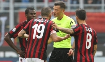 MILLINE ÄPARDUS: Bonucci jõudis pallile jaole, ent pall lõpetas omaväravas