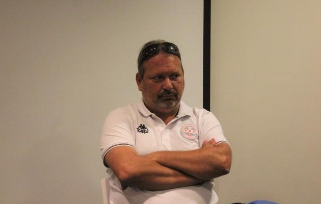 Uus-Kaledoonia peatreener Thierry Sardo. Foto: Kasper Elissaar