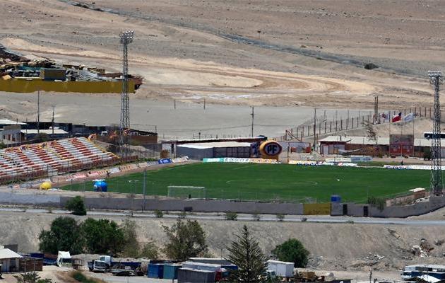 Kõrbestaadion Estadio El Cobre. Foto: Historias de Futbol
