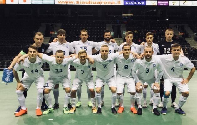 Foto: Eesti saalijalgpall / futsal Facebook