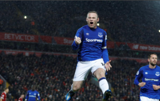 Tabeli esimesse poolde rühkiva Evertoni ponnistused kandsid vilja <i>(vaata Sigurdssoni iluväravat!)</i>