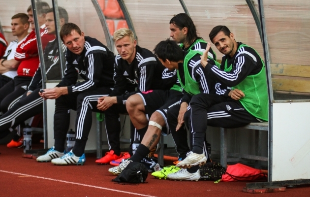 Ats Purje, Borislav Topic, Hidetoshi Wakui, Jorge Rodrigues... Võitluspartnereid on Kaljus olnud erinevaid. Foto: Jana Pipar