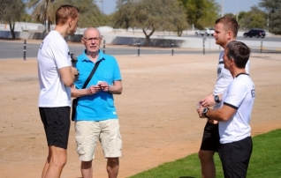 Foto: tänast mängu külastab Abu Dhabis Eesti koondise endine peatreener