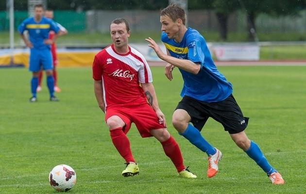 2014. aastal esindas Viljandimaad mängus Tartumaa vastu muuhulgas Karol Mets. Foto: Rein Murakas