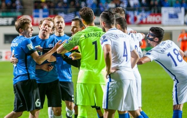 Eesti võib taas Kreekaga mängida. Foto: Gertrud Alatare