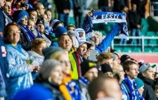 Eesti on UEFA ausa mängu tabelis kõrgel kohal