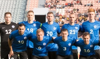 Selgub, et Eesti koondis mängis täna Horvaatia klubi vastu