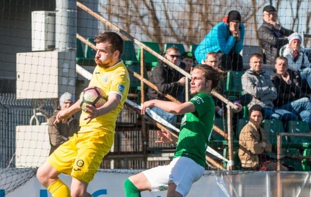 Möödunud hooajal mängis Pohlak Esiliigas Flora U21 meeskonna vastu. Foto: Brit Maria Tael