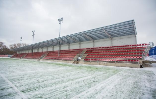 Sportland Arena uus tribüün. Foto: Jana Pipar