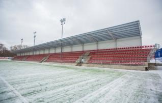Hea uudis koduse vuti sõpradele: Lillekülas asuva Sportland Arena üks tribüün on valmis
