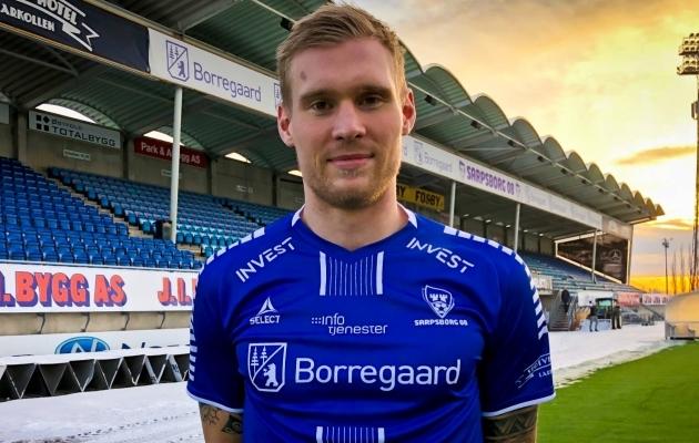 Joonas Tamm liitus Norra klubiga kahe nädala eest. Foto: Sarpsborg