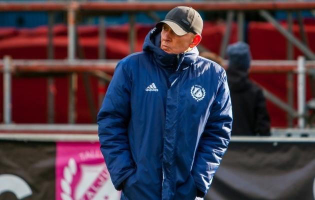 Kuigi uue hooaja alguseni jääb vähem kui kuu, ei saa Sergei Frantsev koosseisu veel lukku lüüa. Foto: Gertrud Alatare