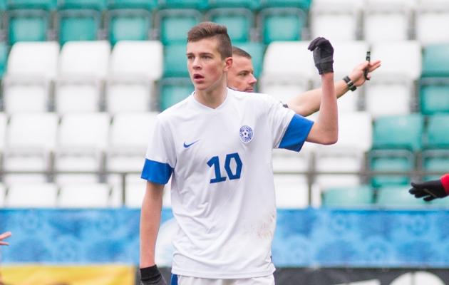 Tunjov kuulus eelmisel aastal ka kodus EM-valikturniiri mänginud U17 koondisesse. Foto: Jana Pipar / EJL
