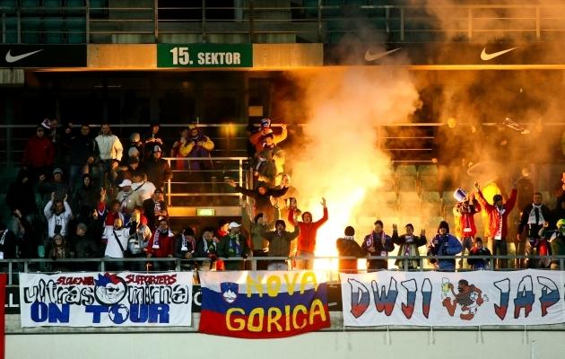 Sloveenide jaoks on jalgpall taas au sees. Foto: Hanna Odras