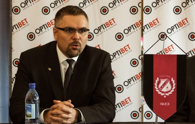 Kalju president Kuno Tehva. Foto: Nõmme Kalju