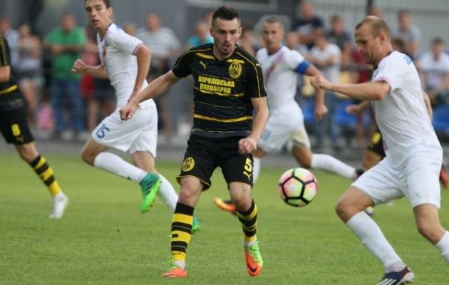 Andri Markovitšil on kirjas mängud nii Ukraina kõrgliigas kui ka noortekoondistes. Foto: lviv.ua