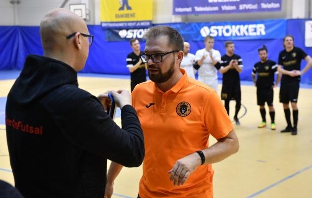 Narva United II on esiliiga meister. Foto: EJL