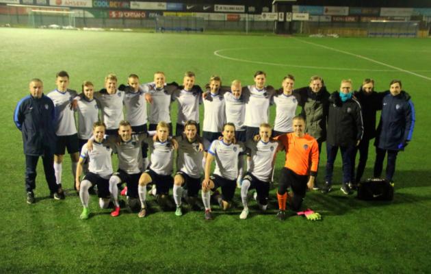 Kalev U21 läheb ühise vaimu pealt taas võimatut tegema. Foto: jkkalev.ee