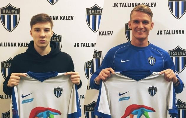 Ioan Jakovlev ja Kevin Rääbis. Foto: Kalevi Facebook