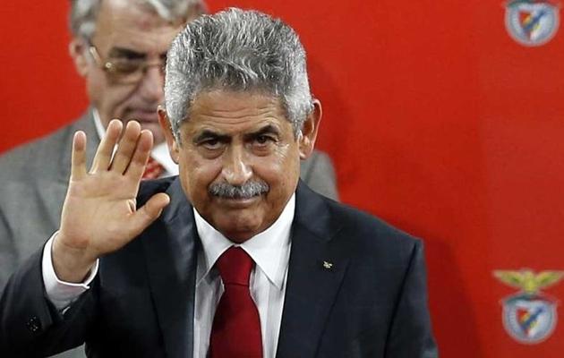 Benfica president Luis Filipe Vieira. Foto: record.pt