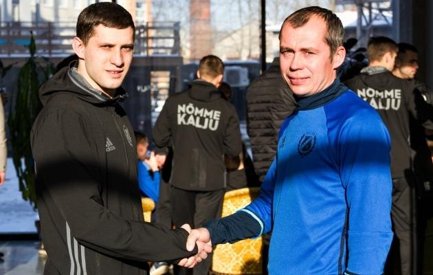 Aleksandr Volkov (vasakul) ja Sergei Terehhov. Foto: jkkalju.ee / Katri Korbun