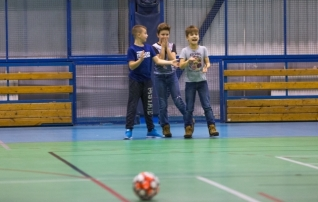 Saalijalgpalli rahvaliigas loositi veerandfinaalpaarid