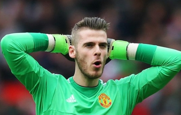 David de Gea Achilleuse kõõlus? Kaenla all