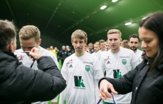 Vana klubi vastu mänginud Jürgenson: tsiteerides klassikuid, siis siit on hea edasi minna
