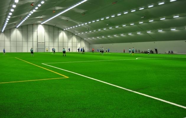 EJL-i jalgpallihall Tallinnas. Foto: Brit Maria Tael