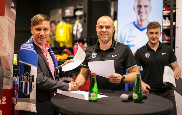 Hanno Liiva ja Joel Lindpere. Foto: JK Tallinna Kalev
