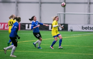 Galerii: naiste koondis sai Soome klubilt 0:3 kaotuse