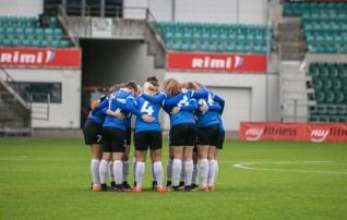 Neidude U17 koondis võõrustab kahel korral Põhja-Iirimaad