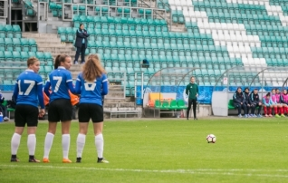 Tüdrukute U15 koondisele toimub treeningkogunemine