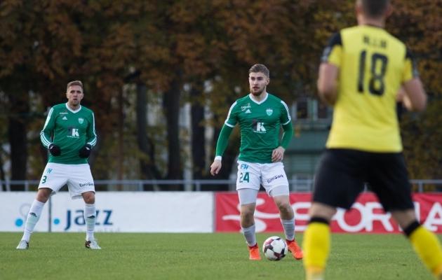 Kaspar Mutso kinnitas mullu Levadias kanda. Tänavu otsustas ta profijalgpallist loobuda. Foto: Jana Pipar / EJL
