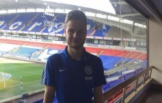 Eesti U21 ööbib Inglismaal laagris olles Boltoni kodustaadionil