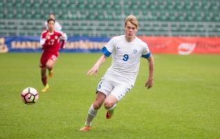 16-aastane Nõmme Kalju ründaja lõi Enar Jäägeri klubile värava, kaotusest see ei päästnud